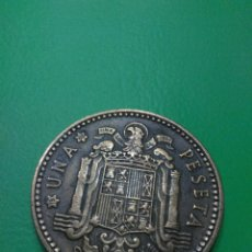 Monedas Franco: MONEDA ESPAÑA FRANCO 1 PESETA AÑO 1953*63. Lote 101182420