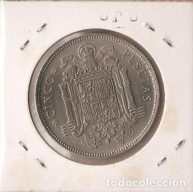 Monedas Franco: ESPAÑA 1949 (*19-49). MONEDA DE 5 PESETAS. SC - Foto 2 - 102286011