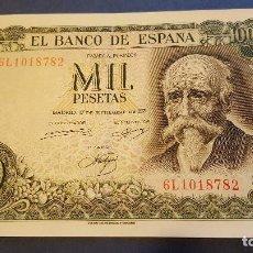 Monedas Franco: 1000 PESETAS JOSÉ ECHEGARAY. AÑO 1971. MBC. Lote 103517491