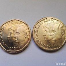 Monedas Franco: JUANCARLOS Y SOFIA.500 PESETAS 2000-2001 SC. Lote 103531467