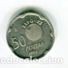 Monedas Franco: 50 (CINCUENTA) PESETAS JUAN CARLOS I AÑO 1990. Lote 104413415