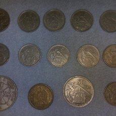 Monedas Franco: LOTE PESETAS FRANCO. Lote 104413562