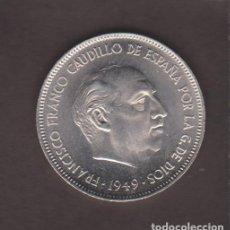 Monedas Franco: MONEDAS - ESTADO ESPAÑOL - 5 PESETAS 1949/ 19-50 - PG-304 (SC). Lote 105112851