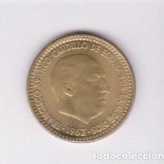 Monedas Franco: MONEDAS - ESTADO ESPAÑOL - 1 PESETA 1963 - 19-67 - PG-287 (SC-). Lote 105115391