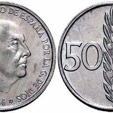 Moedas Franco: ESPAÑA SPAIN 50 CÉNTIMOS 1966 *69 KM 795 SC UNC. Lote 207407503