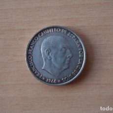 Monedas Franco: OFERTA MONEDA 100 PESETAS 1966 ESTRELLA 1966 PLATA FRANCO CON PATINA VER FOTOS ESPAÑA. Lote 105822447