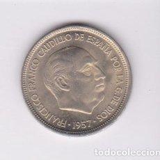 Monedas Franco: MONEDAS - ESTADO ESPAÑOL - 5 PESETAS 1957 - *67 - PG-316. Lote 106562275