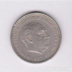 Monedas Franco: MONEDAS - ESTADO ESPAÑOL - 5 PESETAS 1957 - *63 - PG-312. Lote 136680062