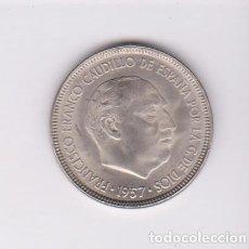 Monedas Franco: MONEDAS - ESTADO ESPAÑOL - 5 PESETAS 1957 - *63 - PG-312 (SC-). Lote 106563963