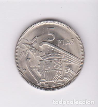 Monedas Franco: MONEDAS - ESTADO ESPAÑOL - 5 PESETAS 1957 - *63 - PG-312 (SC-) - Foto 2 - 106563963