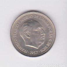 Monedas Franco: MONEDAS - ESTADO ESPAÑOL - 5 PESETAS 1957 - *60 - PG-309. Lote 106564775