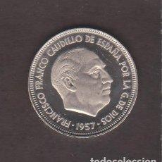 Monedas Franco: MONEDAS - ESTADO ESPAÑOL - 5 PESETAS 1957 - *75 - PG-324 - PRUEBA. Lote 106829871