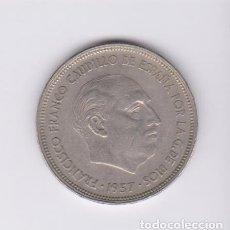 Monedas Franco: MONEDAS - ESTADO ESPAÑOL - 25 PESETAS 1957 - *59 - PG-326. Lote 106832667
