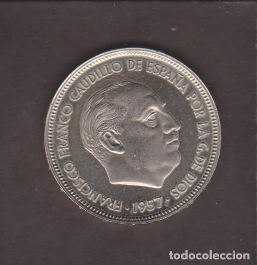 MONEDAS - ESTADO ESPAÑOL - 50 PESETAS 1957 - *73 - PG-349 - PRUEBA (Numismática - España Modernas y Contemporáneas - Estado Español)