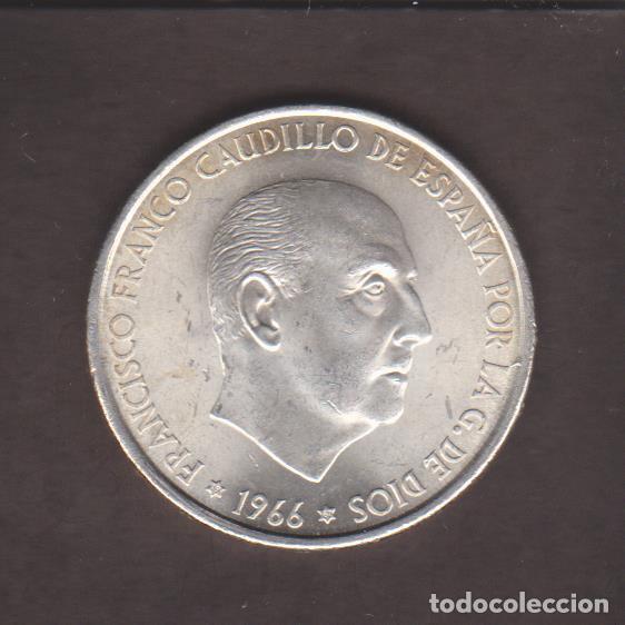 MONEDAS - ESTADO ESPAÑOL - 100 PESETAS 1966 - 19-67 - PG-353 (Numismática - España Modernas y Contemporáneas - Estado Español)