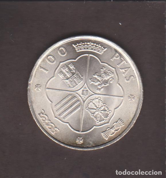 Monedas Franco: MONEDAS - ESTADO ESPAÑOL - 100 PESETAS 1966 - 19-67 - PG-353 - Foto 2 - 106842215