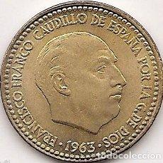 Monedas Franco: PESETA FRANCO 1963 ESTRELLA 65 MBC.. Lote 109123907