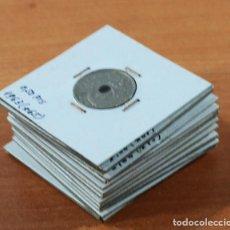 Monedas Franco: LOTE 13 MONEDAS DE FRANCISCO FRANCO 0,10 0,50 2,50 5 PESETAS ENCARTONADAS, VER RELACION Y FOTOS. Lote 110048555