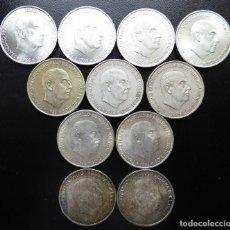 Monedas Franco: 11 MONEDAS 100 PESETAS FRANCO 1966*66/67/68/70 EBC+/S/C. Lote 110216031