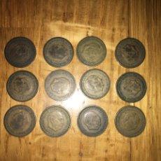Monedas Franco: LOTE 14 MONEDAS 1 PESETA 1953. Lote 110500331
