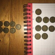 Monedas Franco: LOTE 17 MONEDAS 1 PESETA 1963. Lote 110500751