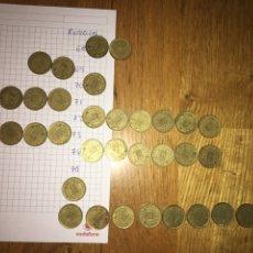 Monedas Franco: LOTE 32 MONEDAS 1 PESETA ESTRELLAS 68,69,70,71,72,73,74 Y 75. Lote 110501028