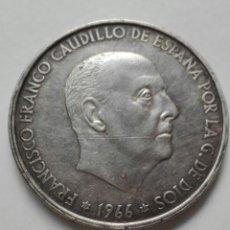 Monedas Franco: MONEDA CIEN PESETAS PLATA ESPAÑA ESTADO ESPAÑOL. *66. Lote 234057730