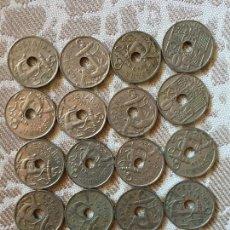 Monedas Franco: VEINTE MONEDAS DE 50 CÉNTIMOS, 1949 Y 1963. Lote 111779219