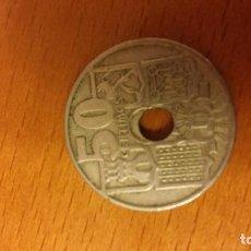 Monedas Franco: MONEDA DE 50 CÉNTIMOS TROQUEL DESCENTRADO. Lote 112269719