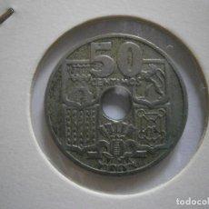Moedas Franco: FRANCO 50 CTS 1949*51 VARIANTE FLECHAS INVERTIDAS . Lote 112316859