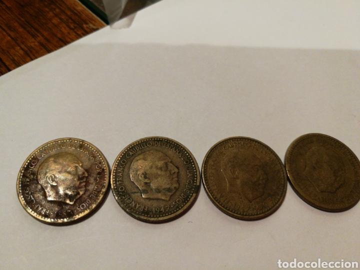 PESETAS RUBIAS DE FRANCO 1947 (Numismática - España Modernas y Contemporáneas - Estado Español)