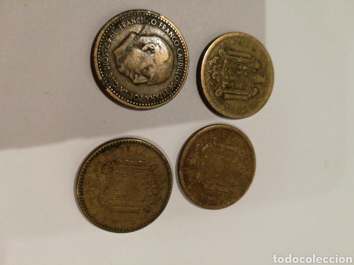 Monedas Franco: Pesetas rubias de Franco 1947 - Foto 2 - 112921703