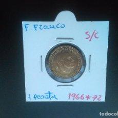 Monedas Franco: 1 PESETA DE 1966 * 19 *72. SIN CIRCULAR. ES LA DE LAS FOTOS. Lote 113326167