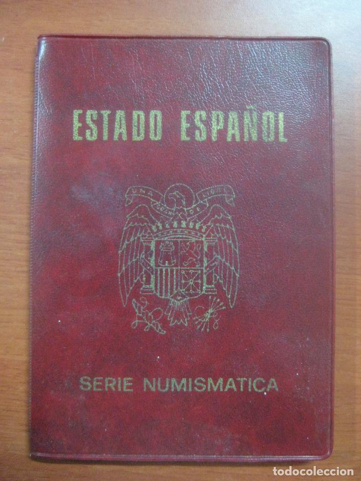 Monedas Franco: RARO ESTUCHE CON LAS 5 MONEDAS DE 100 PESETAS DE PLATA EMISION DE 1966, INCLUIDA EL 69 DE PALO RECTO - Foto 2 - 115465351