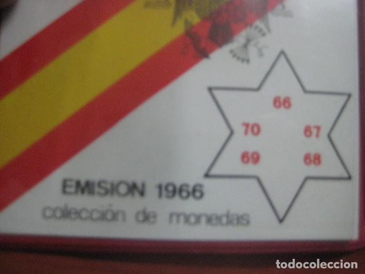 Monedas Franco: RARO ESTUCHE CON LAS 5 MONEDAS DE 100 PESETAS DE PLATA EMISION DE 1966, INCLUIDA EL 69 DE PALO RECTO - Foto 10 - 115465351