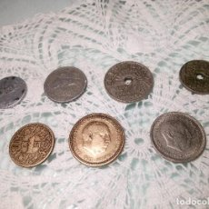 Monedas Franco: LOTE DE 7 MONEDAS DEL ESTADO ESPAÑOL. BUEN ESTADO. DESCRIPCION Y FOTOS.. Lote 115551415