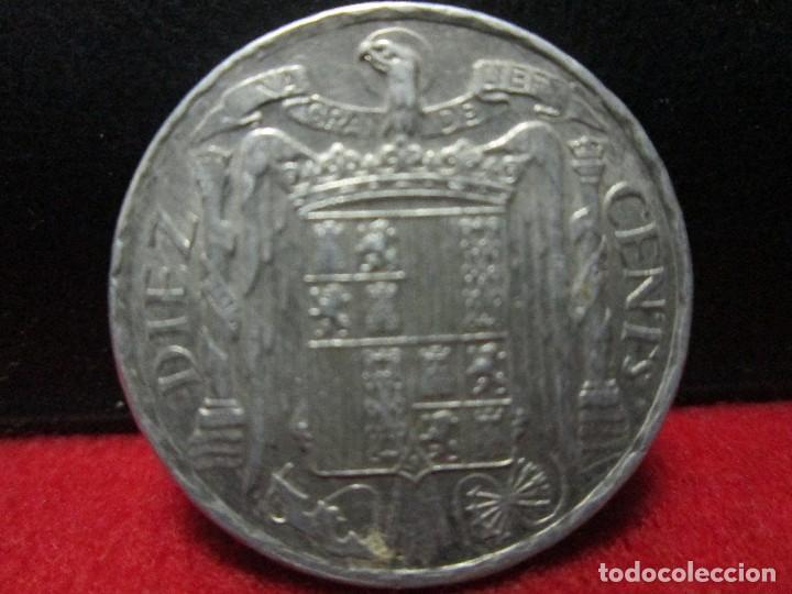 Monedas Franco: excelentes 10 centimos 1953 sincircular - Foto 2 - 116355787