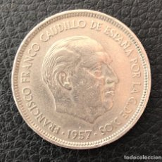 Monedas Franco: MONEDA 50 PESETAS FRANCO 1957 ESTRELLA 71. Lote 116377648