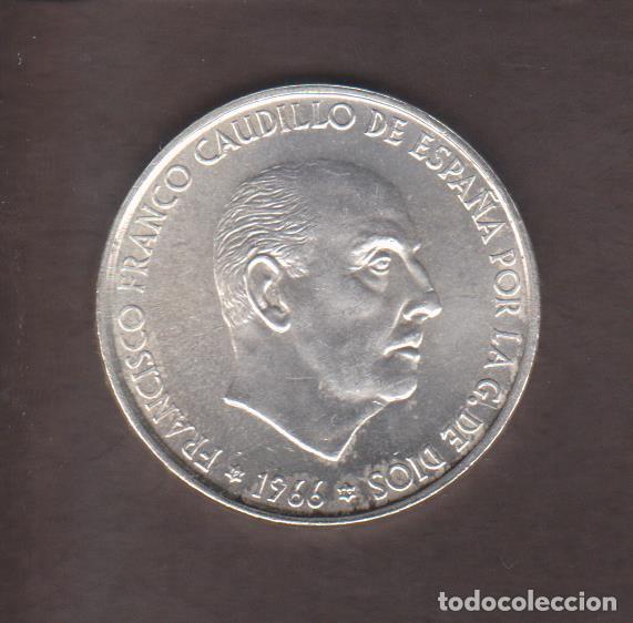 MONEDAS - ESTADO ESPAÑOL - 100 PESETAS 1966 - 19-70 - PG-356 (SC) (Numismática - España Modernas y Contemporáneas - Estado Español)