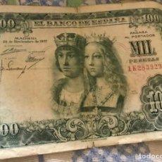 Monedas Franco: BILLETE DE 1000 PESETAS AÑO 1937. Lote 117232743