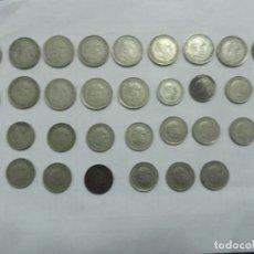 Monedas Franco: LOTE DE MONEDAS DE 25 PTS Y 5 PTAS DE FRANCO. Lote 118057935