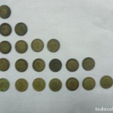 Monedas Franco: LOTE DE MONEDAS DE FRANCO DE 1 PTA DE 1944, 1947, 1953, 1966. Lote 118059423