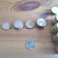 Monedas Franco: LOTE 99 MONEDAS 1 PESETA FRANCO. Lote 118248039