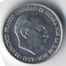 Monedas Franco: ESTADO ESPAÑOL FRANCO 10 CÉNTIMOS 1959 (SC).. Lote 118317807
