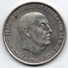 Monedas Franco: 100 PESETAS 1966 *19*66 FRANCO PLATA. Lote 119153867
