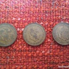 Monedas Franco: 3 MONEDAS DE 1 PESETA DE FRANCO 1963. CIRCULADAS. BUEN ESTADO. Lote 57119169