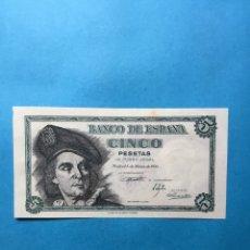 Monedas Franco: 532 ) ESPAÑA 5 PESETAS 1948 NUEVA SIN CIRCULAR. Lote 120706051