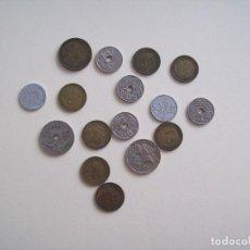 Monedas Franco: LOTE DE MONEDAS ESTADO ESPAÑOL Y REPUBLICA. Lote 120713639