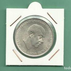 Monedas Franco: PLATA-ESPAÑA:100 PESETAS 1966 *68. 19 GRAMOS DE LEY 0,8. Lote 151909710