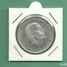 Monedas Franco: PLATA-ESPAÑA:100 PESETAS 1966 *66. 19 GRAMOS DE LEY 0,8. Lote 151909205